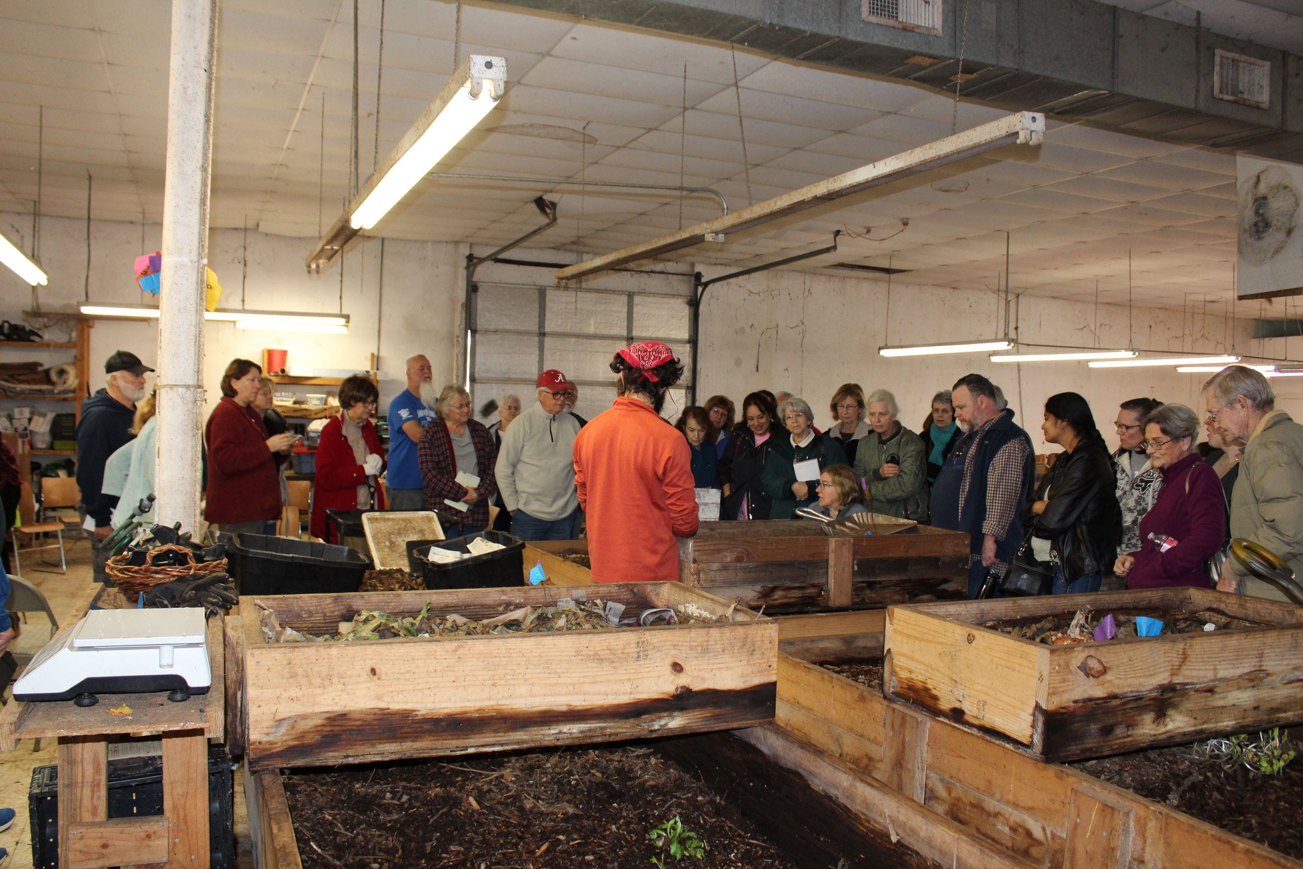 How to worm compost class held at Tx Worm Ranch
