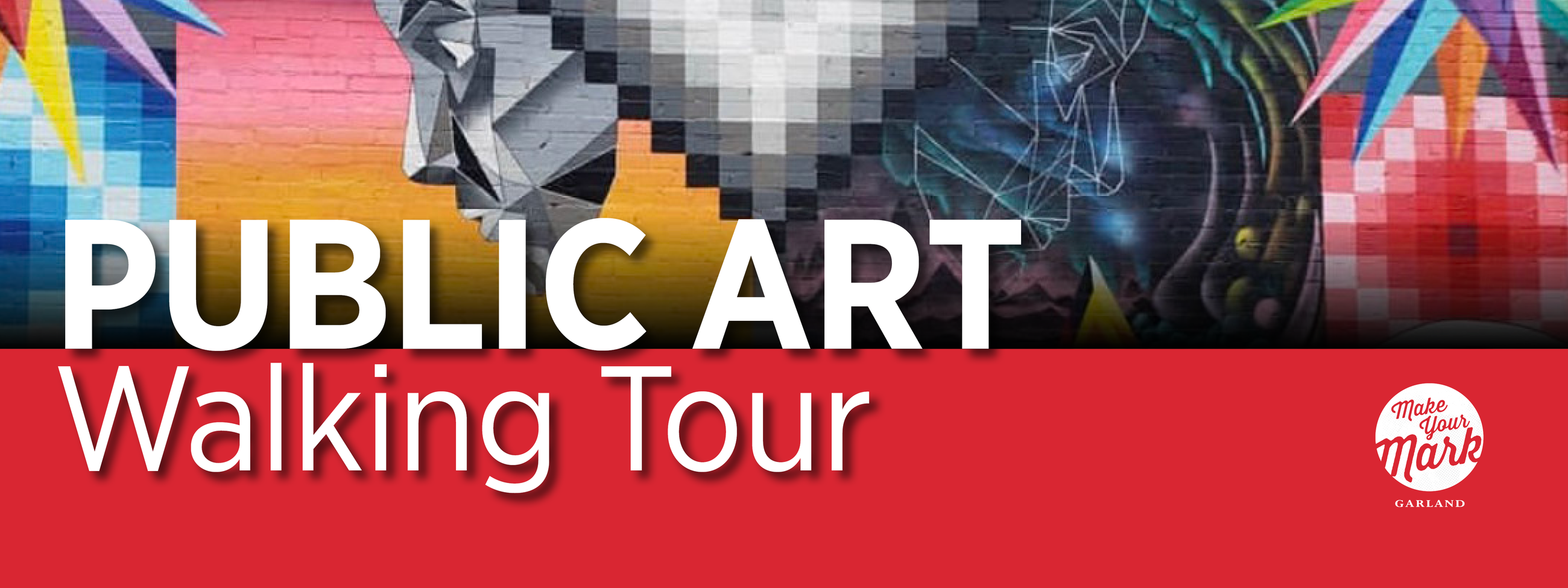 Public Art Walking Tour title artwork
